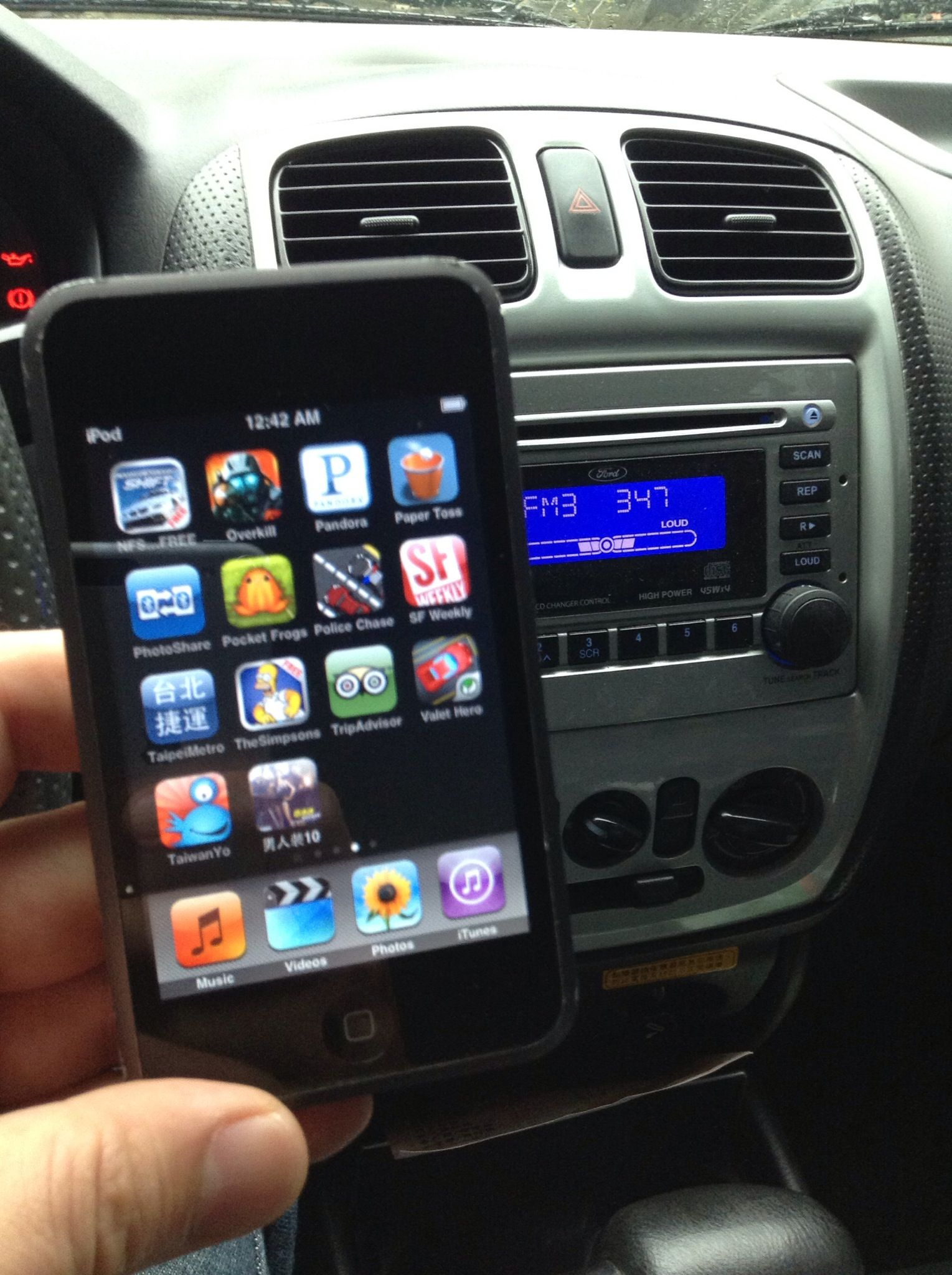 How To Hook Up Ipod To Car Radio Wirelessly No Bluetooth Recipe Radio Car Radio Fm Radio