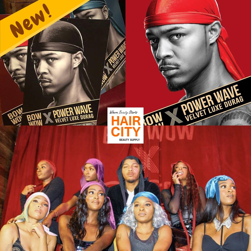 Red Bow Wow Velvet Durag Bow Wow Red Bow Beauty Supply