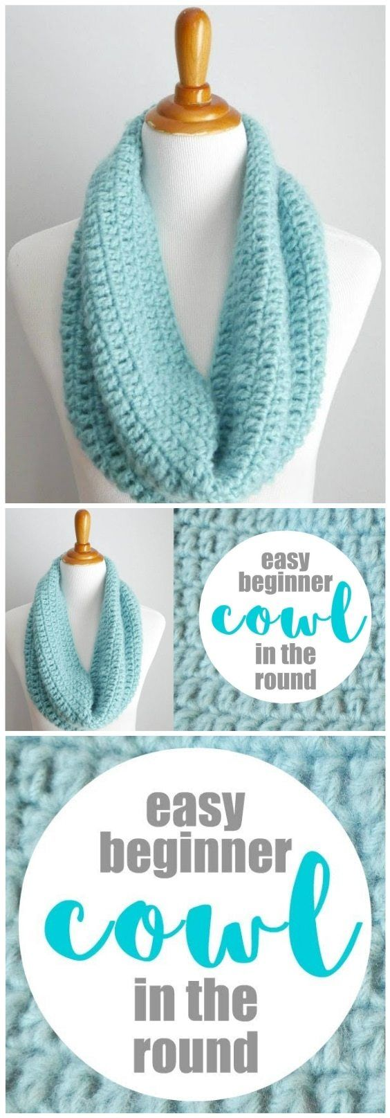Photo of One Hour Cowl Crochet Pattern – Things To Crochet