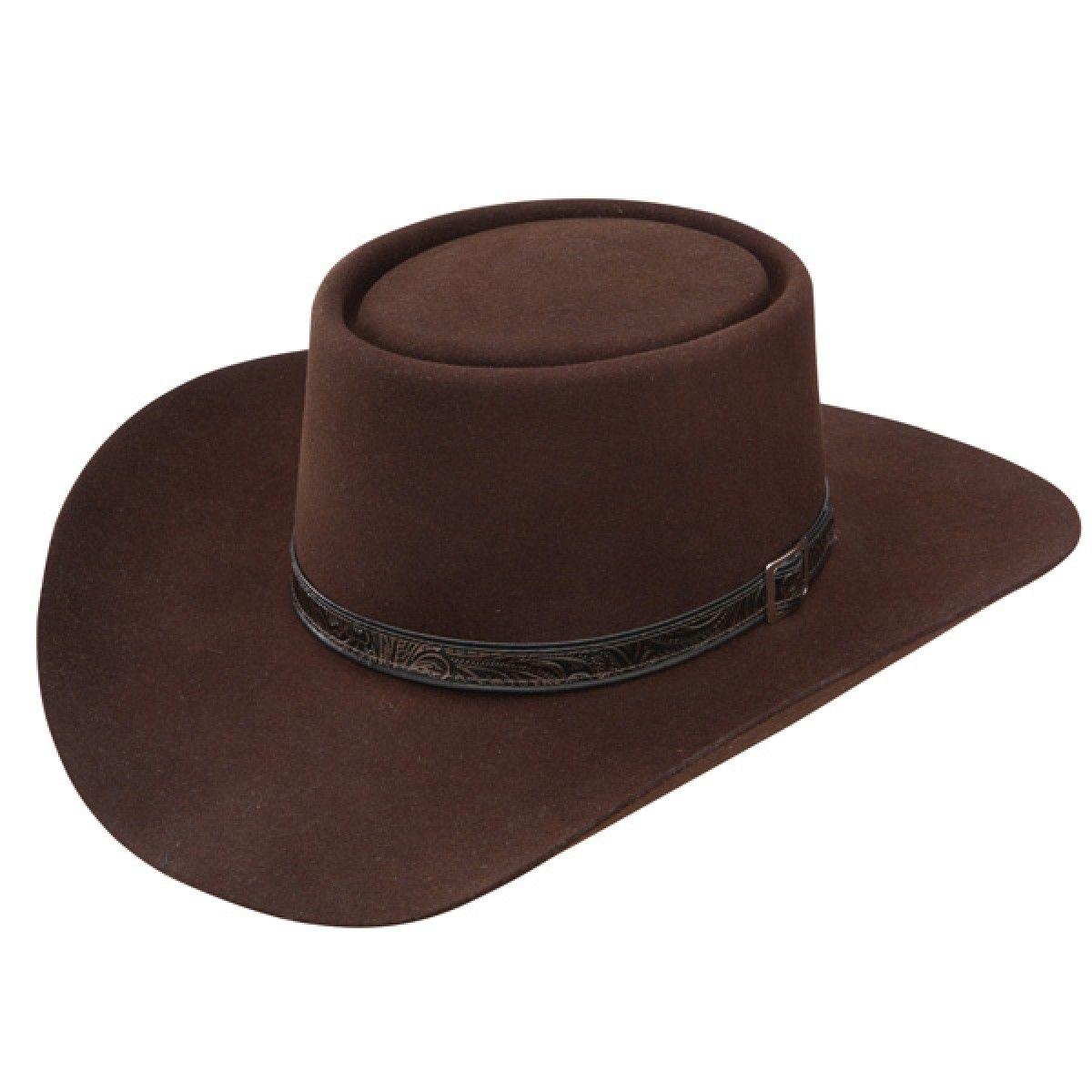 Stetson Bozeman Wool Felt Crushable Cowboy Hat Images