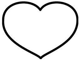 hartje kleurplaten valentijnen hart