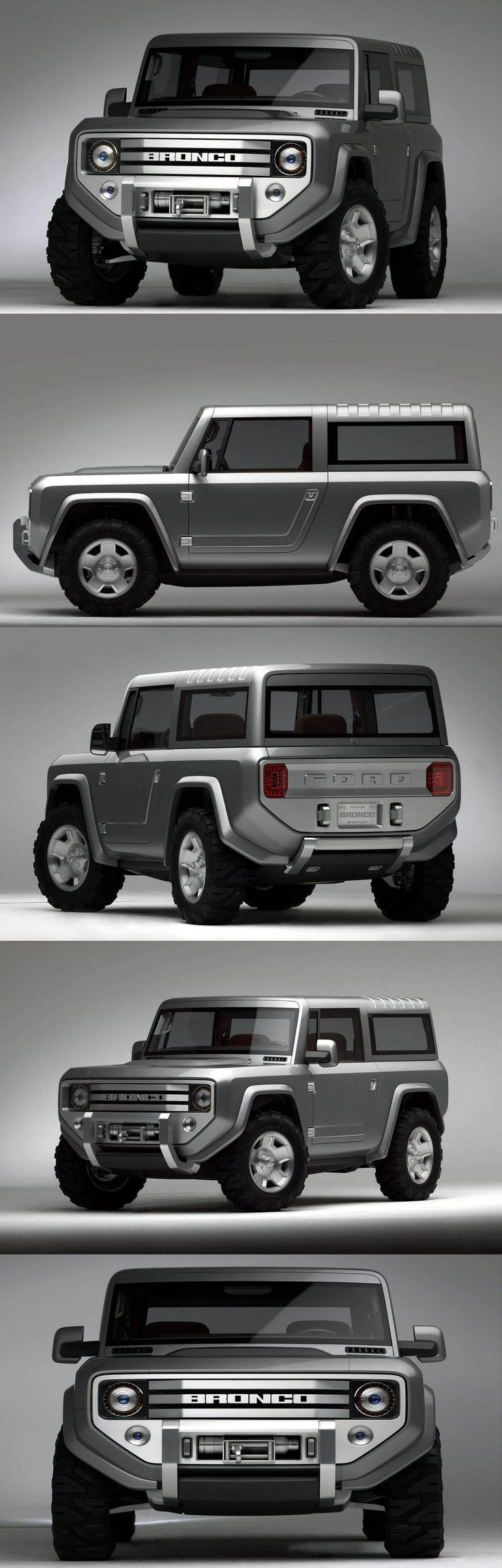 Ford Bronco Concept. If made i would totally get this
