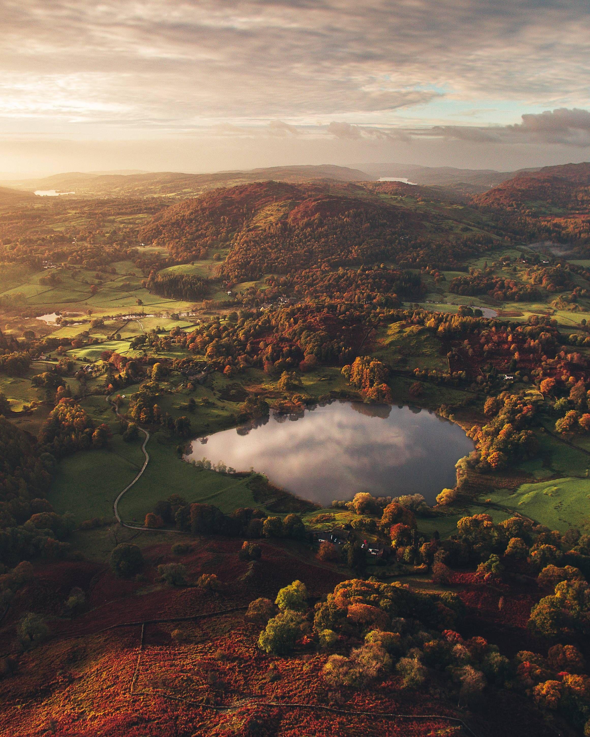 Lake District Sunrise Imgur Nature Photography Nature Beautiful Nature