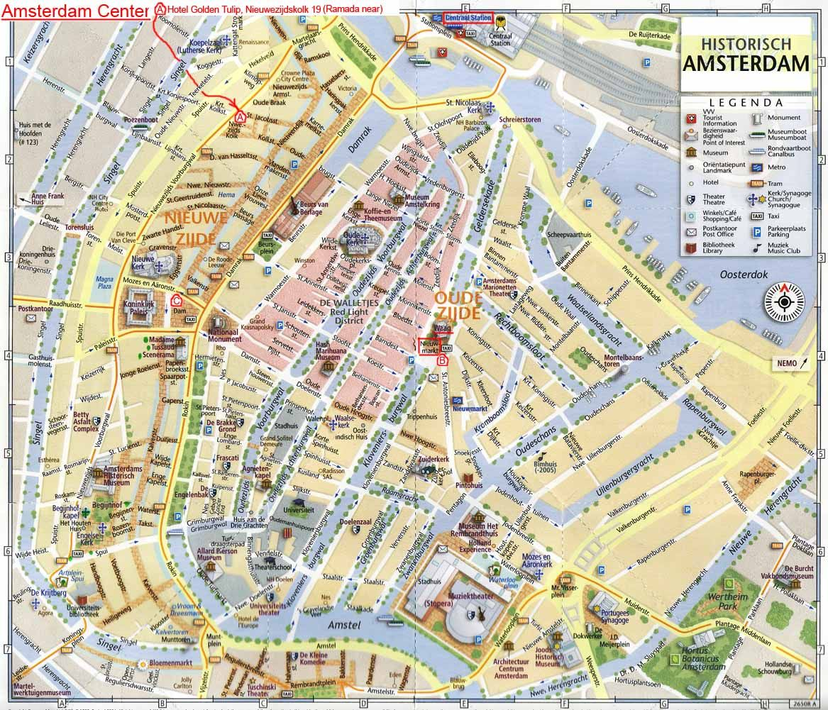 map of amsterdam – Amsterdam Travel Map