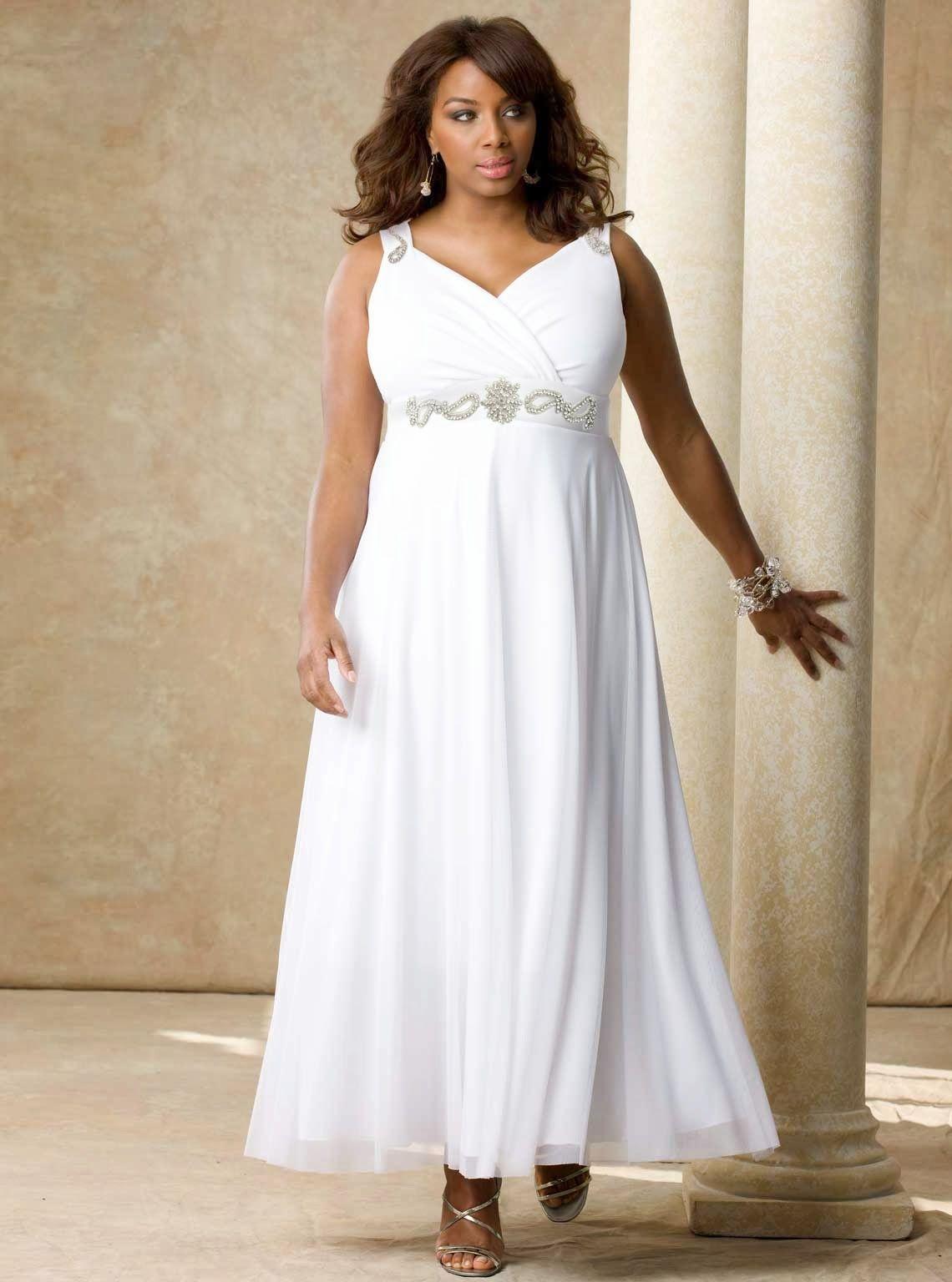 Tea length plus size wedding dresses  Lindos vestidos de fiesta para gorditas  Moda y tendencias  nails