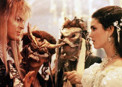 Labyrinth - Probably seen it well over 100 times in my life...so far.  Always will be my favorite movie.