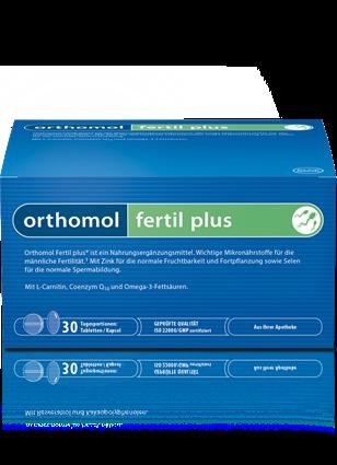 Orthomol Fertil plus - Hoffnung für Männer mit