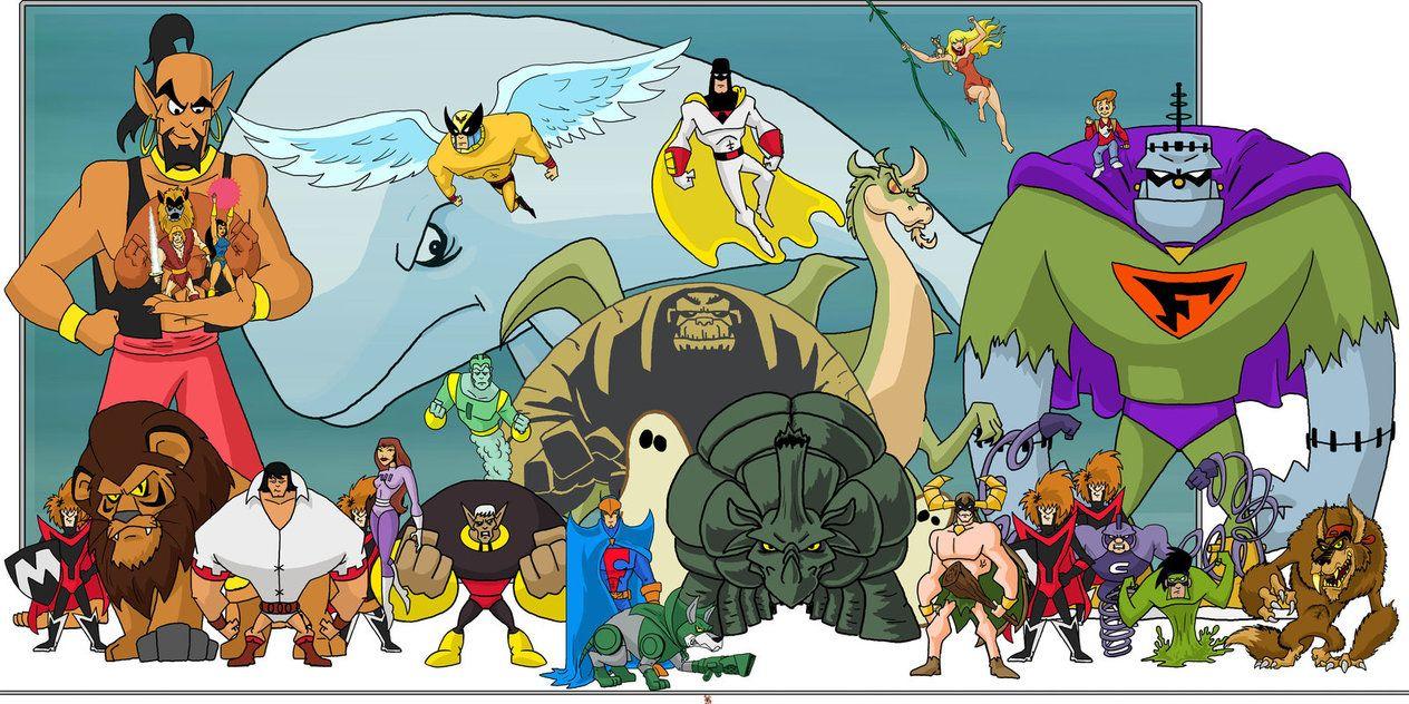 The Herculoids TV Series Hanna Barbera World of Super TV