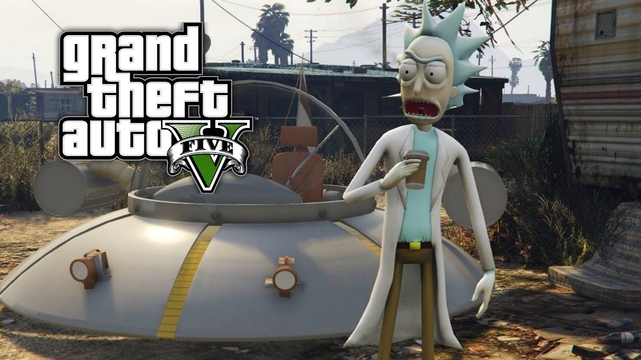 GTA 5 Mods - PICKLE RICK MOD FROM RICK AND MORTY (GTA 5 PC