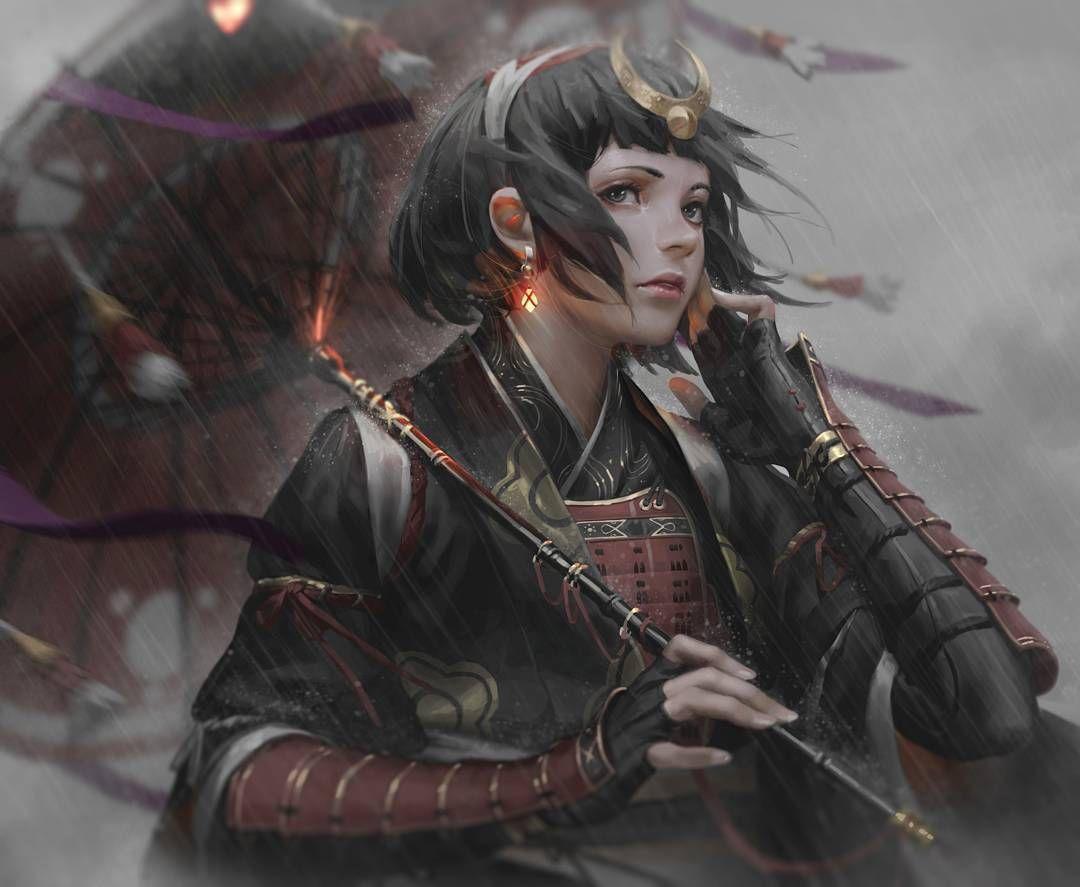 armor ファンタジーアート 剣士 イラスト 画