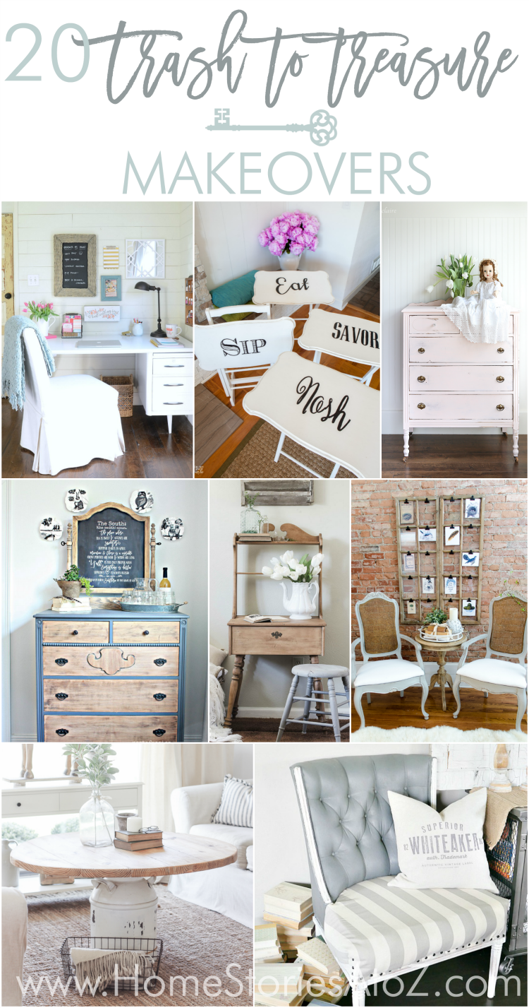 Trash To Treasure Makeovers Thrift Store Finds Store And Diy