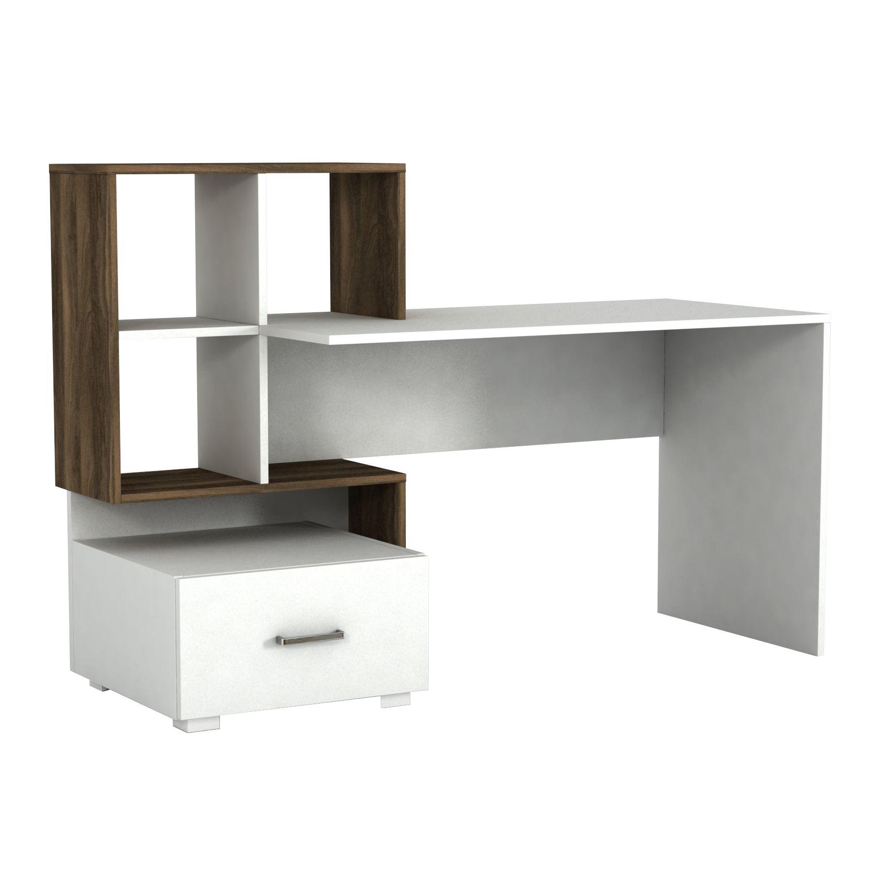 Dieser moderne Schreibtisch der Marke alphamoebel ist