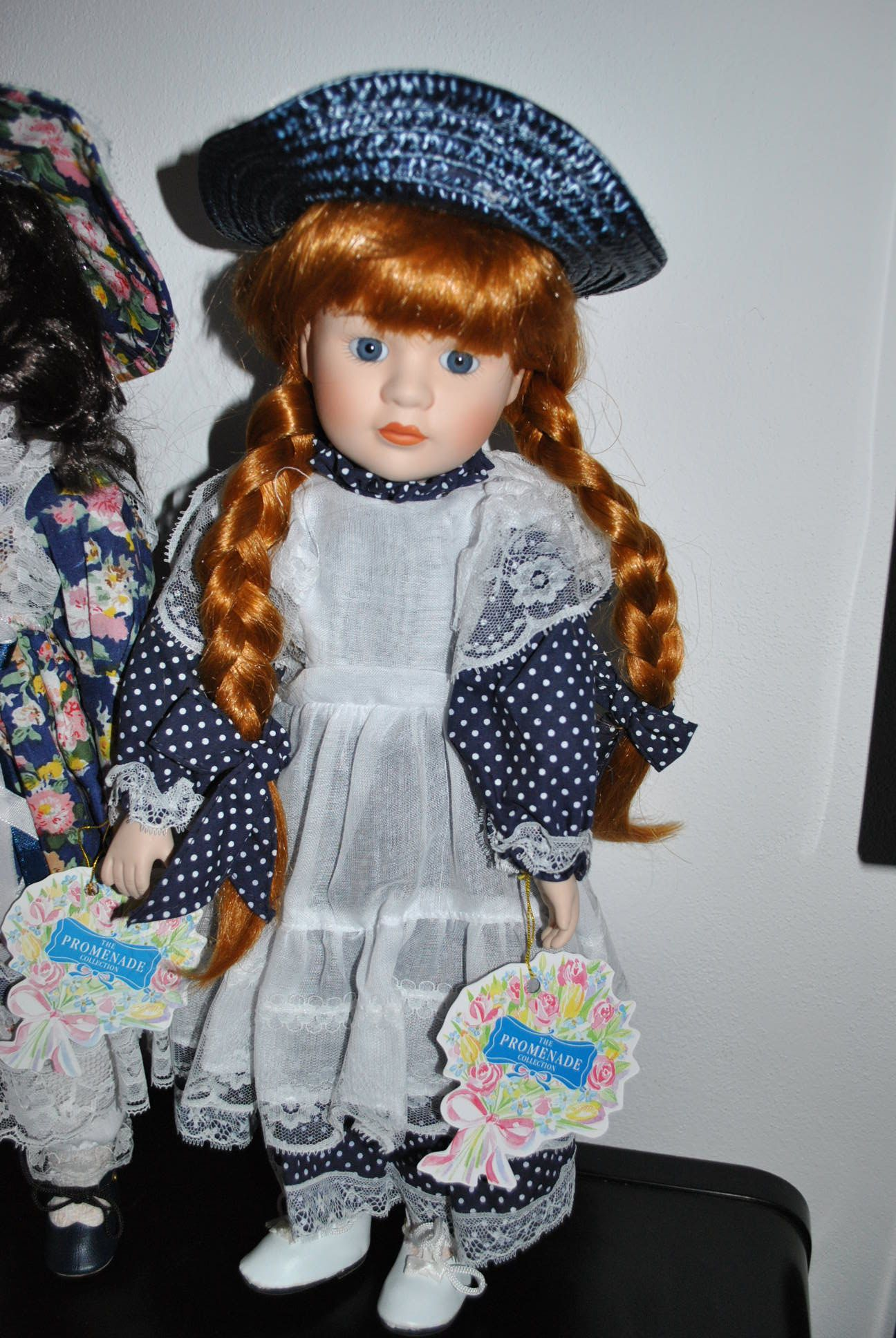 Lalka Lalki Porcelanowa Z Kolekcji Promenade 7385473382 Oficjalne Archiwum Allegro Harajuku Style