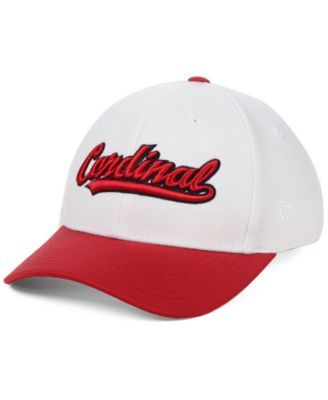 detailed look 7d94d 45757 Top of the World Stanford Cardinal Tailsweep Flex Stretch Fitted Cap -  White L XL