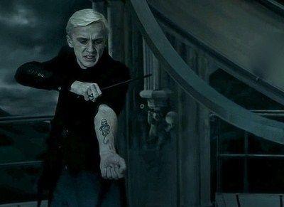 Dark Mark Drako Malfoj Garri Potter Slizerin