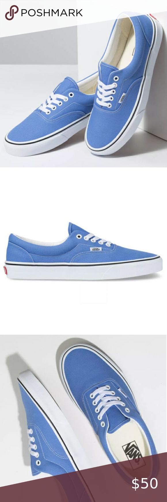 Vans Light Blue Low Top Womens Casual