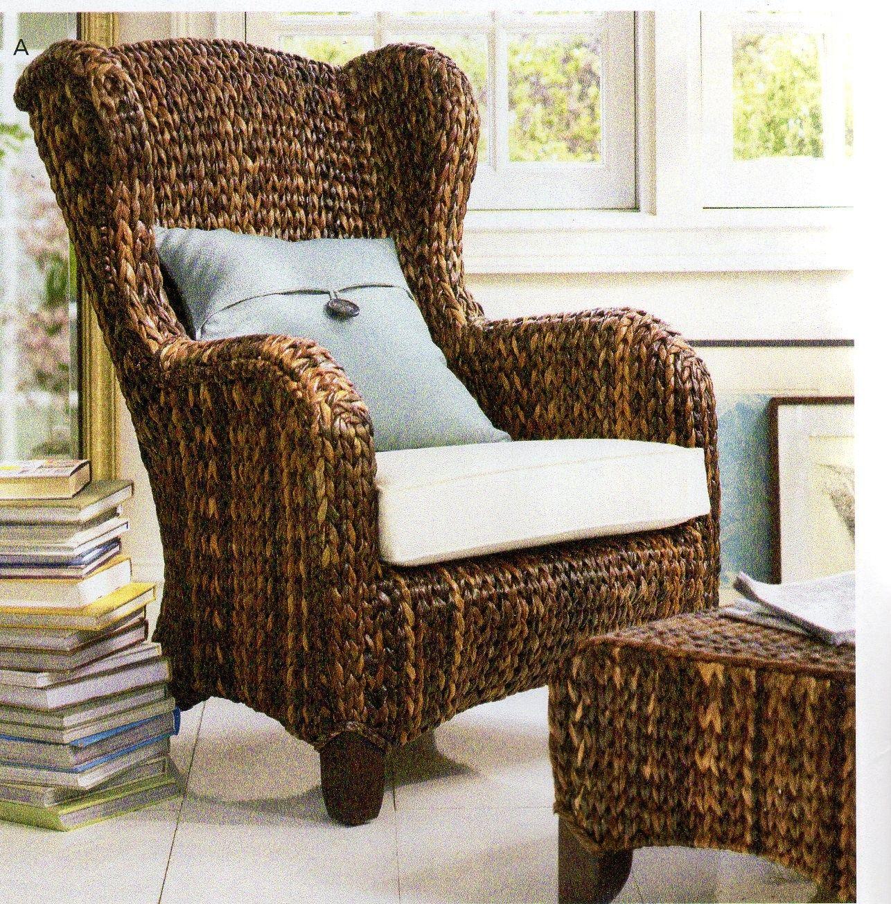 Pottery Barn Wicker Chairs