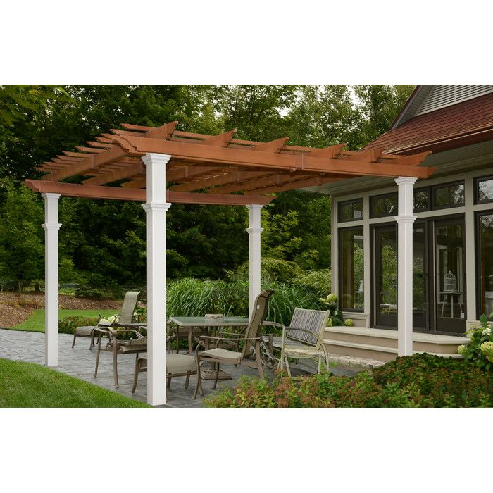 Shop Wayfair For A Zillion Things Home Across All Styles And Budgets 5 000 Brands Of Furniture Lighting Coo Outdoor Pergola Pergola Patio New England Arbors