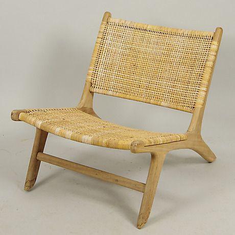 Populära STOL, rotting/trä, samtida. Möbler - Fåtöljer & Stolar – Auctionet WG-97