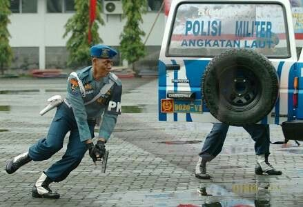 Military Police Navy of Indonesia Military Police,army and weapon