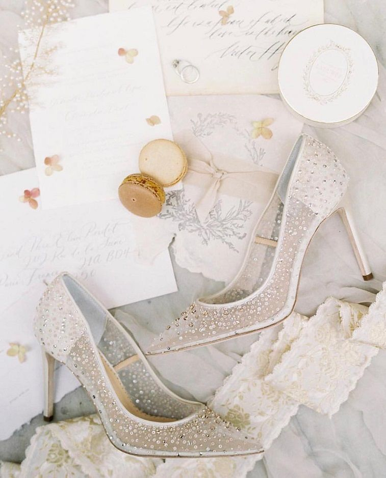 The Most Stunning Wedding Shoes Worth Showing Off Bridal Shoes
