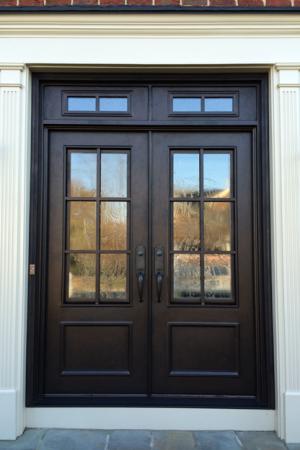 Traditional Doors Wrought Iron And Steel Doors Clark Hall Iron Front Door Custom Front Doors Front Entry Doors