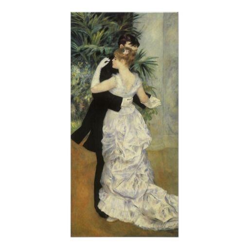 Impressionist Renoir/'s City Dance Counted Cross Stitch Chart Pattern