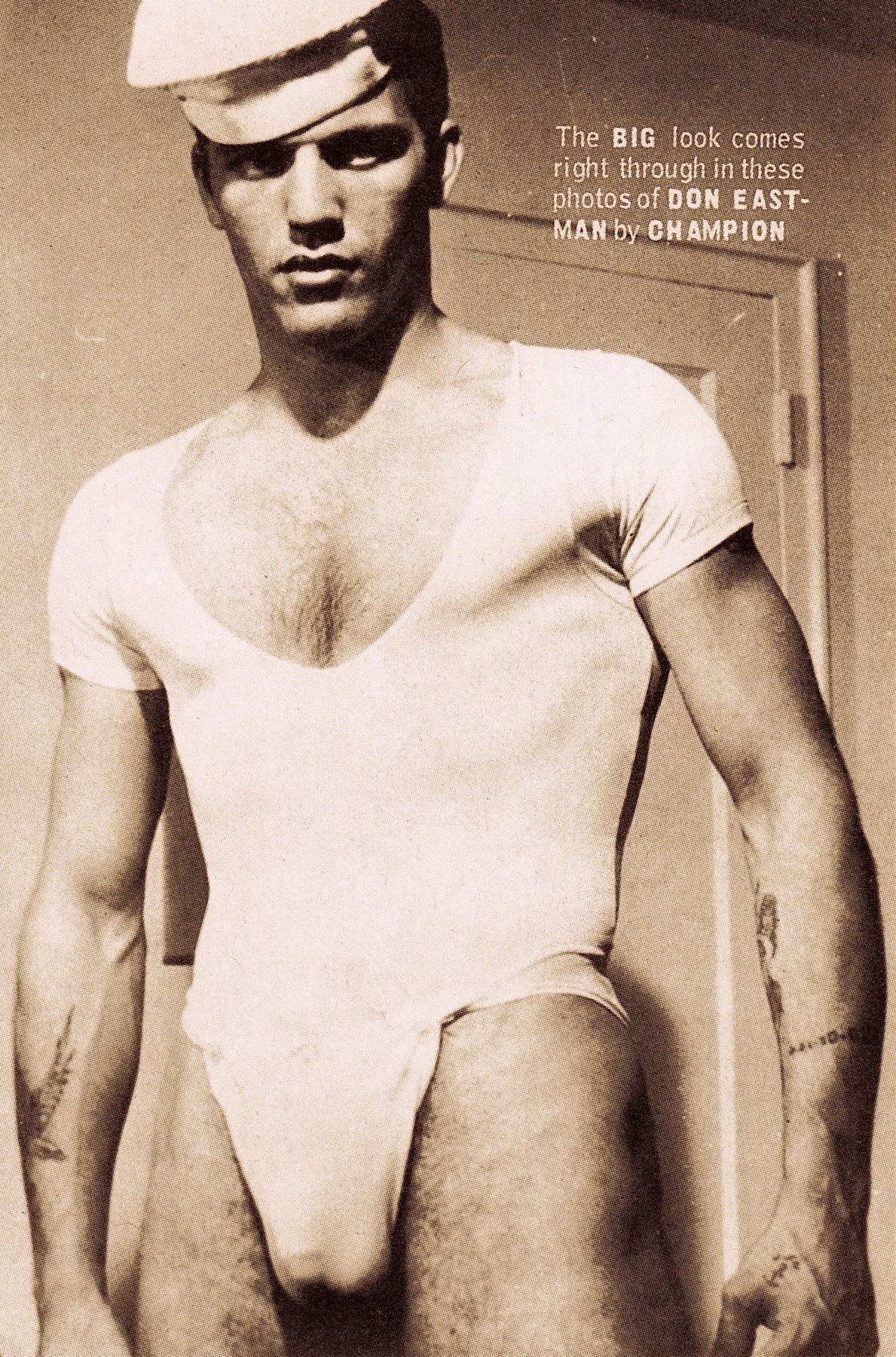 DON EASTMAN in Boys 1965. Vintage beefcake sailor