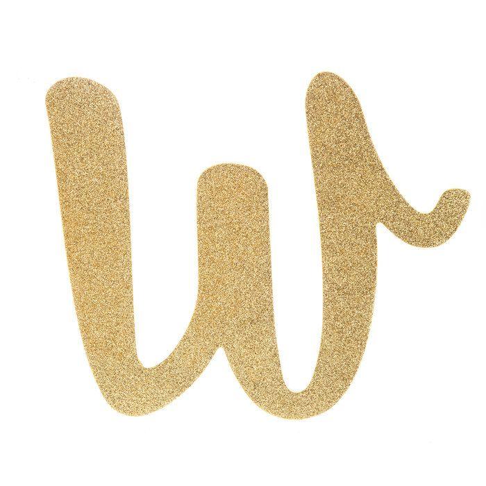 Gold Glitter Letter Wood Wall Decor W Wood Wall Decor Glitter Letters Wood Wall