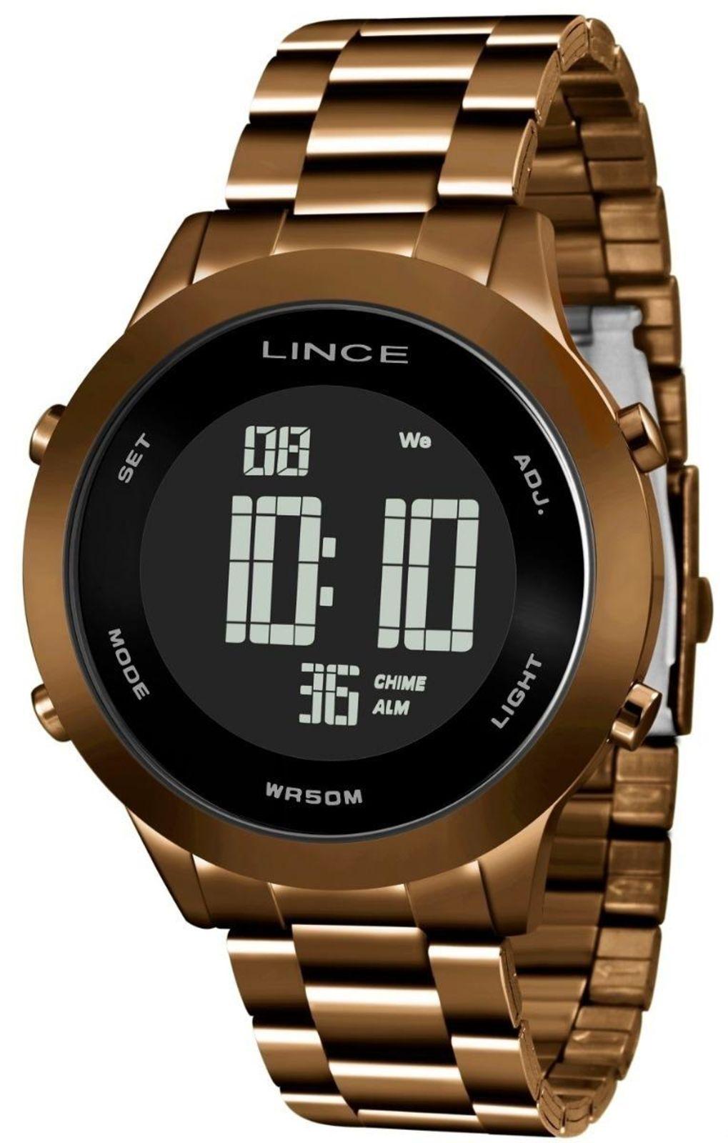 85c1cd2e614 Relógio Lince Marrom - SDPH084L PXNX