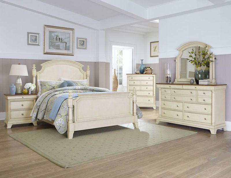 Inglewood Bedroom Set In Whitewash Cream Bedroom Furniture White Bedroom Set Furniture Bedroom Interior