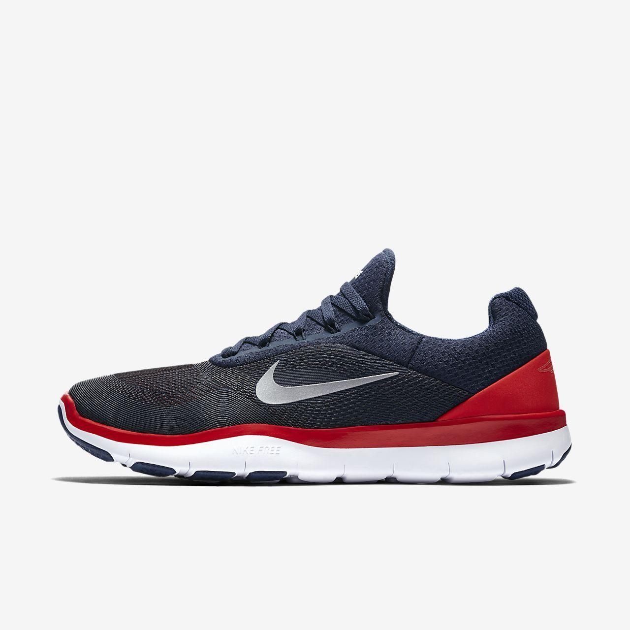 Nike Mens Patriotes Entraîneur Libre Nfl Chaussures De Formation