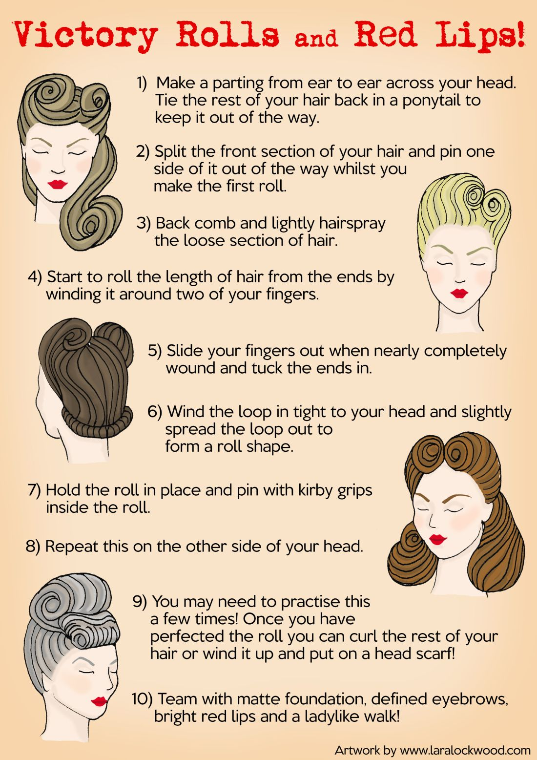Pin By Bee On Vintage Hair 1940s Hairstyles 1940s Hairstyles For Long Hair Rockabilly Hair