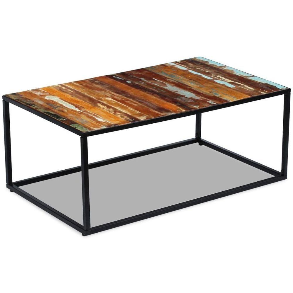 Coffee Table Reclaimed Wood 39 4 X23 6 X15 7 Ebay Solid Coffee Table Rectangle Coffee Table Wood Coffee Table Desk