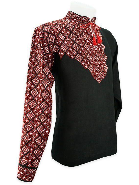 Незвичайна чорна вишиванка  1b9a3cca46638