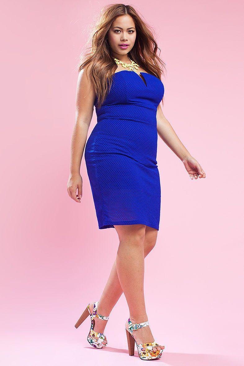 Pointelle Bustier Dress | Clothes | Pinterest