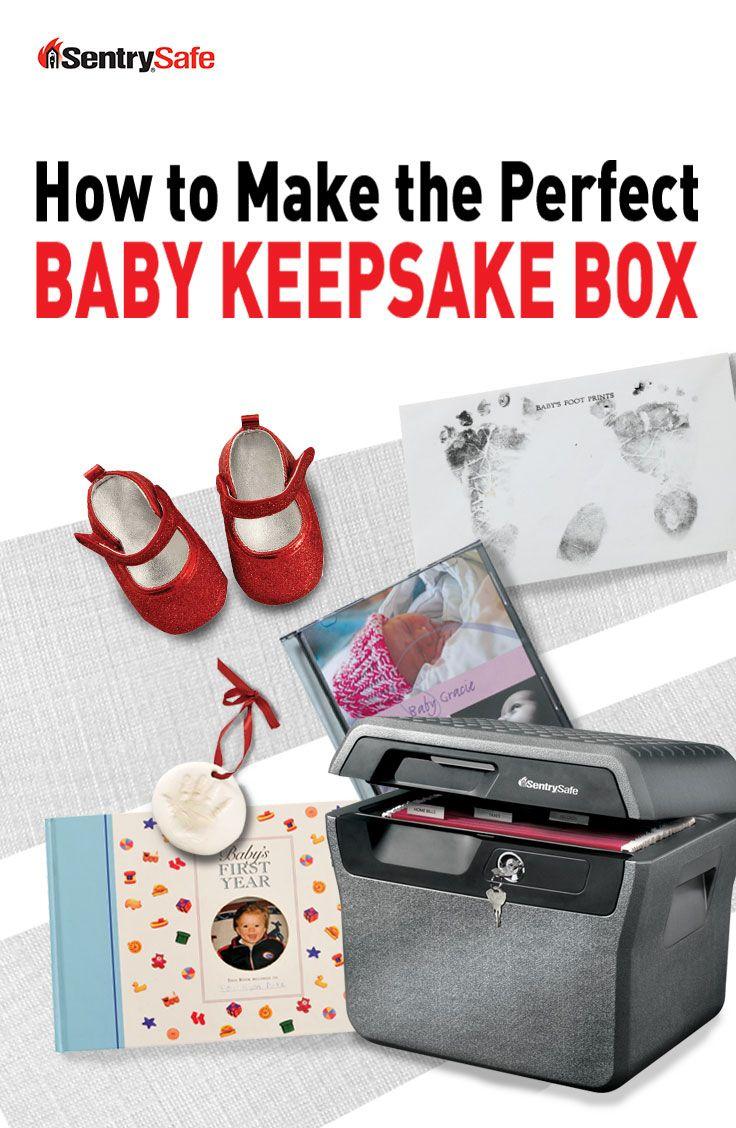 Keep precious memories safe with a baby keepsake box! By