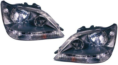 Lexus Rx300 Replacement Headlight Assembly Black Bezel 1pair Details Can Be Found By Clicking On The Affi Replacement Headlights Car Hacks Automotive Design