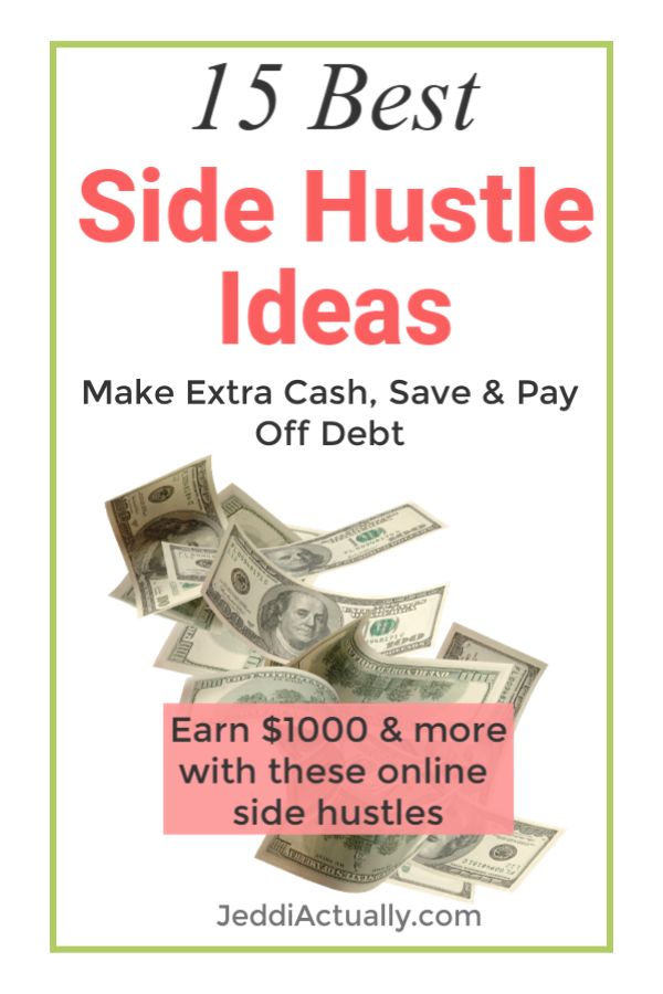 f81bf0174 In search of side hustle ideas to make extra money? You can make some extra  cash on the side whether you are a busy person with a full time 9-5 or you  ...