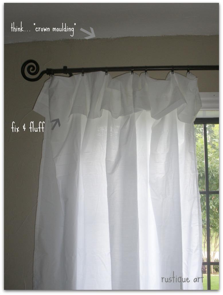 Diy Curtains Diy Nifty Thrify No Sew Curtains Diy Curtains