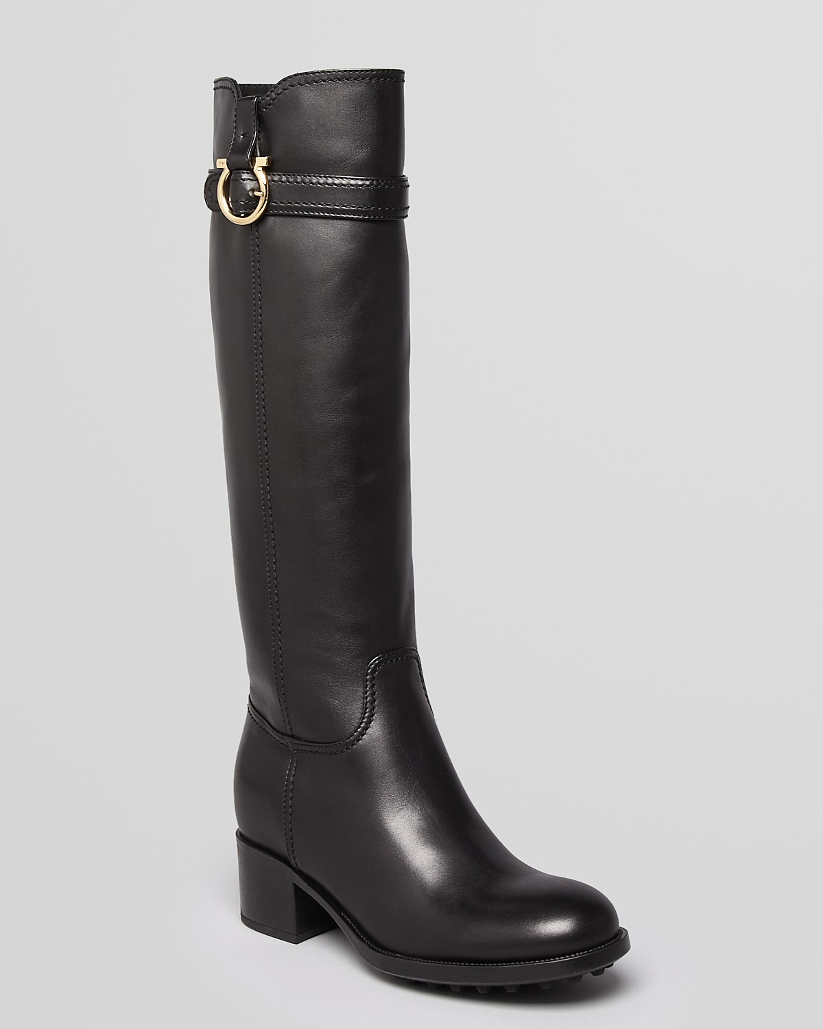 Cheap Online Free Shipping Good Selling Salvatore Ferragamo Riding Boots Shopping Online Sale Online View For Sale Brand New Unisex For Sale 0t240X