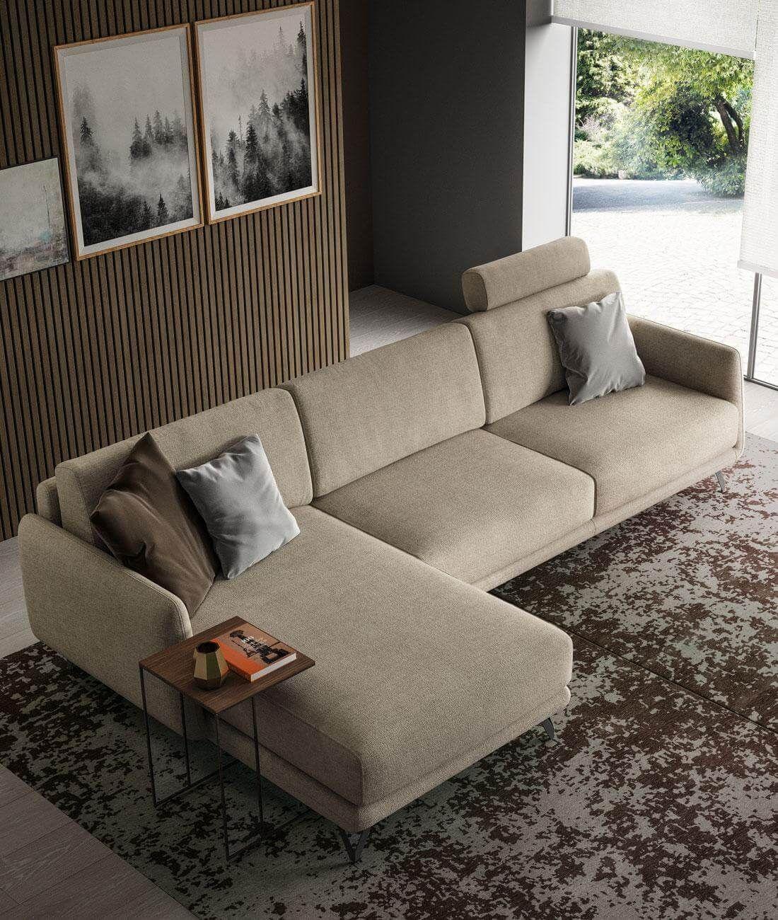 divano bristol penisola nel 2020 Divani, Divano moderno