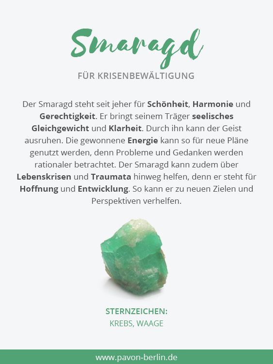 STEIN: Smaragd