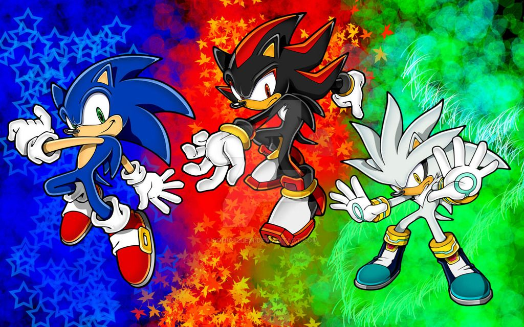 Sonic Shadow And Silver Ultra Wallpaper