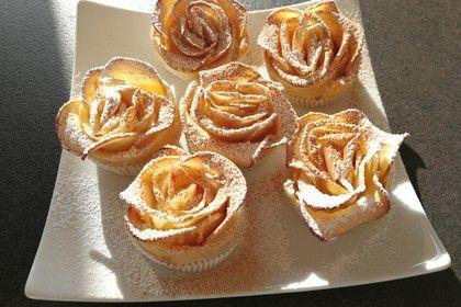 Apfel-Blätterteig-Rosen von Evas_Backparty   Chefkoch