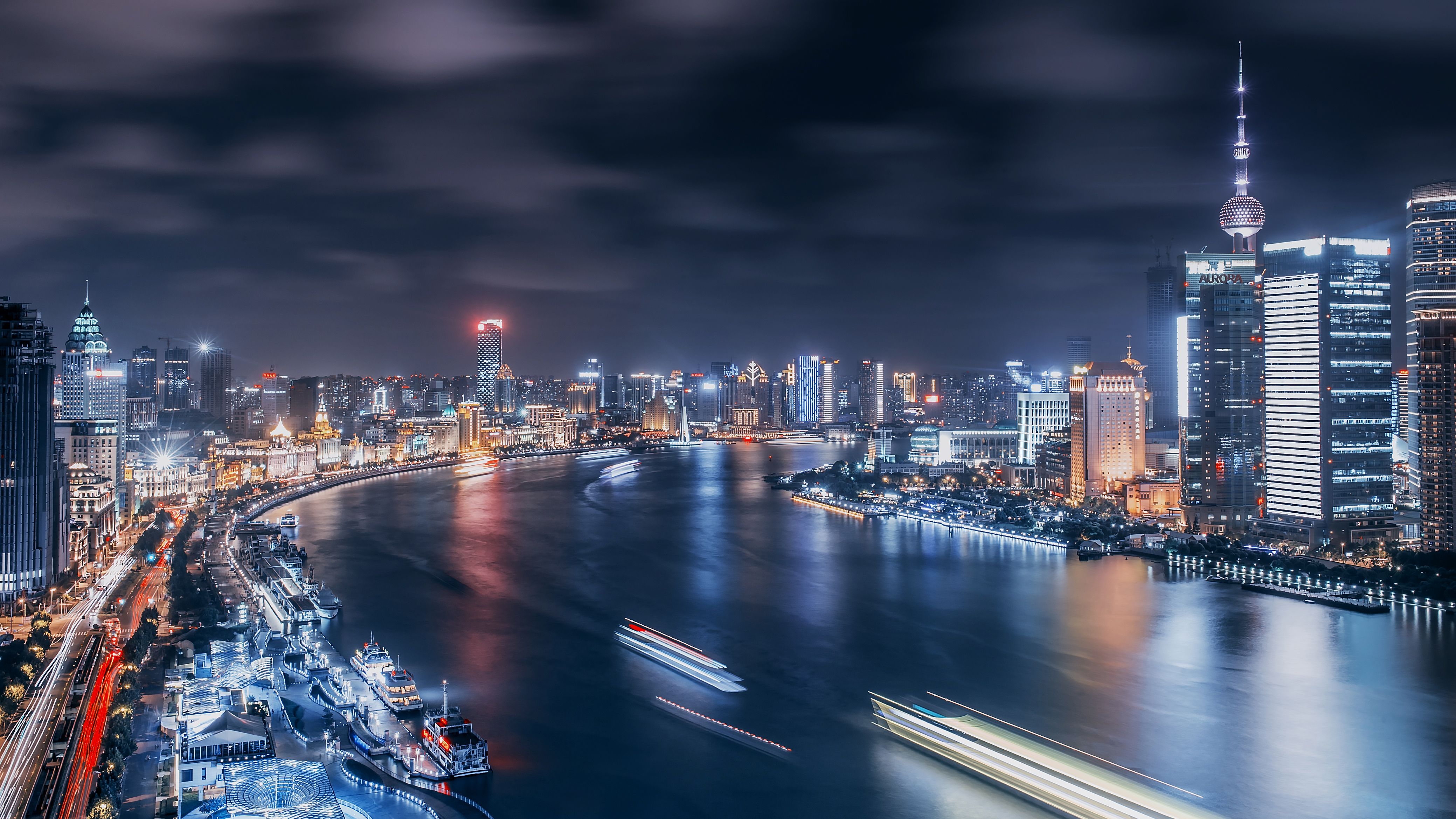 The Bund Shanghai China 4k Ultra Wallpapers Shanghai City City Wallpaper Shanghai