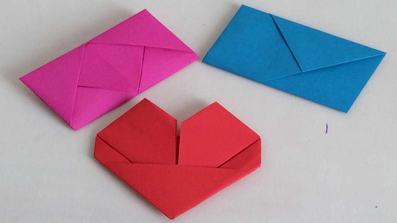 Como Doblar Cartas Como Doblar Hojas Para Regalar San Valentin 14 De Doblar Cartas Manualidades Con Hojas De Papel Cartas Para San Valentin