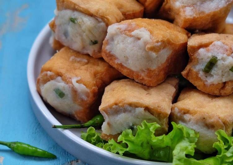 Resep Tahu Bakso Ayam Oleh Susi Agung Resep Resep Tahu Resep Fotografi Makanan