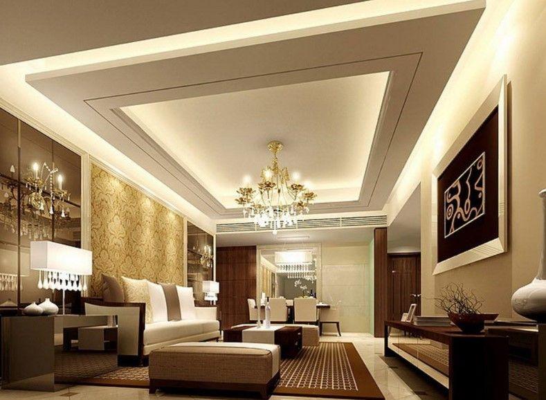 30 Best Living Room Decoration Ideas False Celing Ceiling Design
