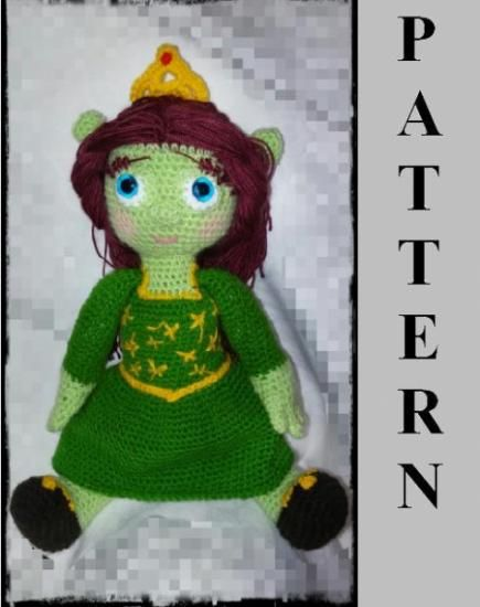 Pictures Of Donkey In Shrek | Amigurumi de animais de crochê ... | 550x435